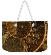 An Ancient Ammonite Pattern II Weekender Tote Bag