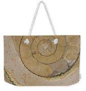 An Ancient Ammonite Pattern Vi Weekender Tote Bag