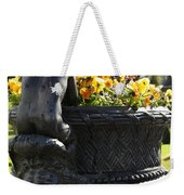 An Angels Backside Weekender Tote Bag