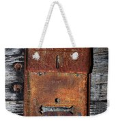An Antique Mailbox Weekender Tote Bag