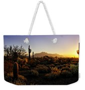An Arizona Morning  Weekender Tote Bag
