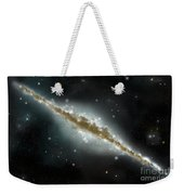 An Artists Depiction Of A Large Spiral Weekender Tote Bag by Marc Ward