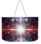 An Artists Depiction Of The Big Bang Weekender Tote Bag by Marc Ward