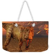 An Asteroid Hitting The Earth, Marking Weekender Tote Bag