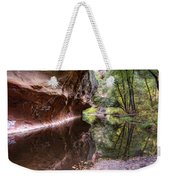 An Autumn Day In West Fork  Weekender Tote Bag by Saija  Lehtonen