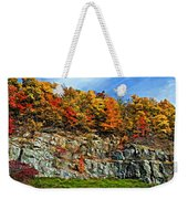 An Autumn Day Painted Weekender Tote Bag