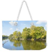 An Autumn Day Panoramic Weekender Tote Bag