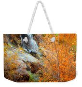 An Autumn Falls Weekender Tote Bag
