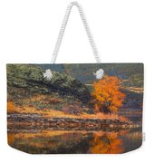 An Autumn Stand Weekender Tote Bag