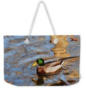 An Autumn Swim Weekender Tote Bag