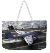 An Ea-6b Prowler Takes Weekender Tote Bag by Stocktrek Images