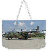 An Eads Casa C-295 Aircraft Weekender Tote Bag
