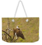 An Eagle Stretching Its Wings Weekender Tote Bag
