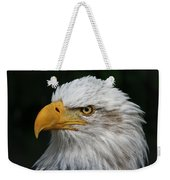 An Eagle's Portrait Weekender Tote Bag