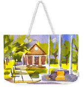 An Early Summers Morning Weekender Tote Bag