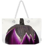 An Eggplant Jewel Weekender Tote Bag