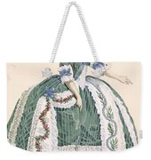 An Elaborate Royal Court Gown, Engraved Weekender Tote Bag