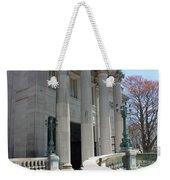 An Elegant Newport Mansion Weekender Tote Bag