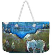 An Elephant For You Weekender Tote Bag