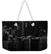 An Empire In The Distance Weekender Tote Bag