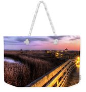 An Evening At The Marsh Weekender Tote Bag