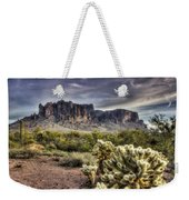 An Evening At The Superstitions Weekender Tote Bag