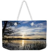 An Evening In Lakes Country Weekender Tote Bag