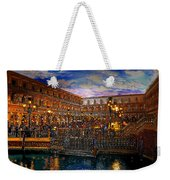 An Evening In Venice Weekender Tote Bag by David Lee Thompson