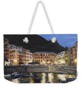 An Evening In Vernazza Weekender Tote Bag
