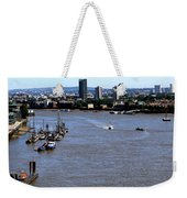 An Expansive View From The Tower Bridge Weekender Tote Bag