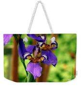 An Eyeful Iris Weekender Tote Bag