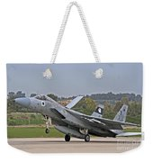 An F-15a Baz Of The Israeli Air Force Weekender Tote Bag