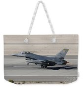 An F-16c Fighting Falcon Taking Weekender Tote Bag