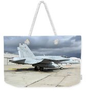 An Fa-18c Hornet On The Ramp At Marine Weekender Tote Bag