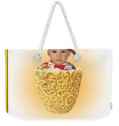 An Image Of A Photograph Of Your Child. - 03 Weekender Tote Bag