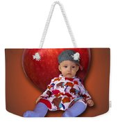 An Image Of A Photograph Of Your Child. - 04 Weekender Tote Bag