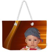 An Image Of A Photograph Of Your Child. - 05 Weekender Tote Bag