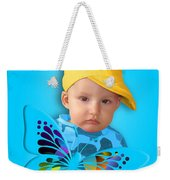 An Image Of A Photograph Of Your Child. - 06 Weekender Tote Bag