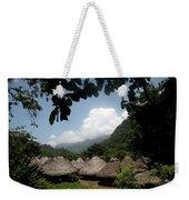 An Indigenous Village In The Jungles Weekender Tote Bag