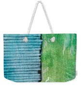 An Indirect Reflection Weekender Tote Bag by Brett Pfister