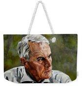 An Interesting Man - Viktor Hesse Weekender Tote Bag by Jolante Hesse