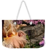 An Iris Surprise Center Weekender Tote Bag