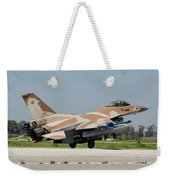 An Israeli Air Force F-16c Weekender Tote Bag