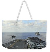 An Mh-60s Sea Hawk Takes Weekender Tote Bag