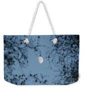 An October Moon Weekender Tote Bag