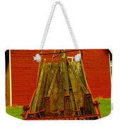 An Old Barn In Kittitas Weekender Tote Bag