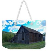 An Old Barn In The Sage Weekender Tote Bag