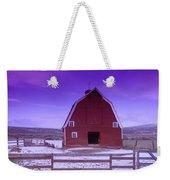 An Old Barn In The Wenas Weekender Tote Bag