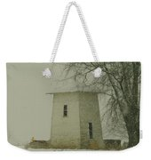 An Old Bin In The Snow Weekender Tote Bag by Jeff Swan