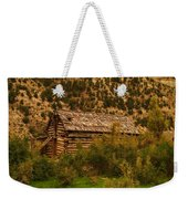 An Old Cabin In Utah Weekender Tote Bag
